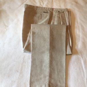 Men's linen dress pants